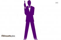 James Bond Vector Silhouette