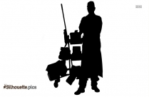 Janitor Silhouette Icon