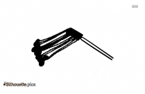 Japanese Antique Hairpin Silhouette