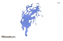Japanese Dragon Silhouette Free Vector Art