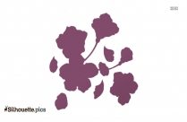 Cherry Blossom Logo Silhouette For Download