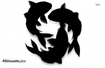 Trout Fish Silhouette Image
