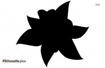 Camellia Flower Symbol Silhouette