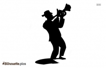 Jazz Dancers Silhouette Icon