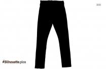 Jeans Symbol Silhouette