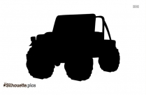 Jeep Cartoon Silhouette