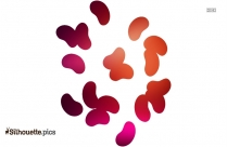 Cartoon Lollipop Silhouette Image And Vector