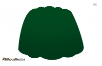 Green Jello Silhouette