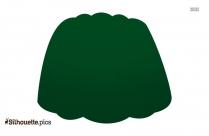 Green Jello Silhouette