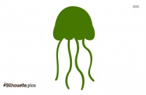 Jellyfish Clipart Silhouette Illustration