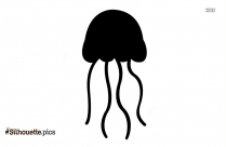 Jellyfish Clipart Silhouette Drawing
