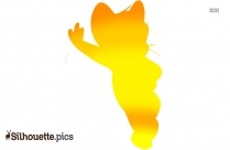 Jerry Mouse Cartoon Silhouette