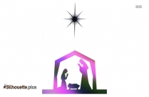 Christmas Tree Silhouette Clipart