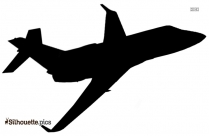 American Airlines Silhouette Free Vector Art