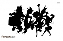 Jetsons Characters Silhouette Image