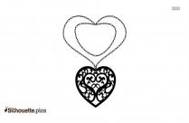 Little Princesses Silhouette Clip Art