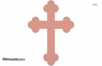 Cross Religion Stroke Silhouette