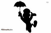 Jiminy Cricket Disney Galore Silhouette