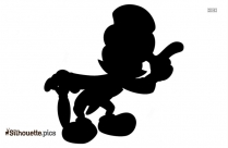 Dopey Disney Silhouette Clipart