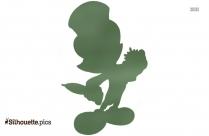 Jiminy Cricket Disney Silhouette