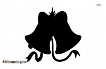 Jingle Bell Silhouette Icon
