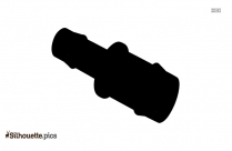 One Arm Kettlebell Swing Silhouette Illustration