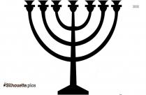 Judaism Symbols Cliparts Silhouette