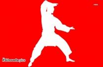 Judo Symbol Silhouette Icon