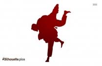 Judo Symbol Silhouette