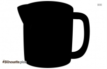 CUP SAUCER SILHOUETTE