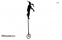 Juggler Clip Art, Silhouette