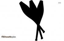 Juggling Pins Silhouette