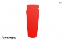 Soda Bottle Silhouette Picture