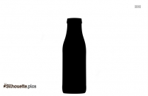 Juice Cleanse Cold Pressed Juice Bottle Silhouette