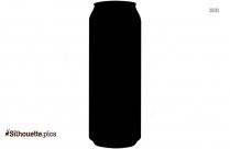Juice Tin Silhouette,health Drinks Clip Art