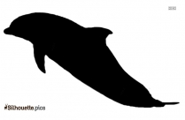 Bottlenose Dolphin Silhouette Image And Vector