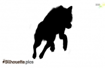 Squirrel Silhouette Outline
