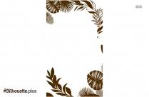 Jungle Border Silhouette Clip Art