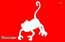 Jungle Fun Zoo Monkeys Silhouette