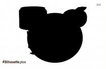 Cartoon Yogurt Silhouette Image