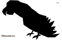 Kakapo Drawing Silhouette