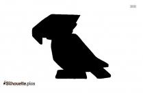 Kakapo Parrot Clipart Silhouette