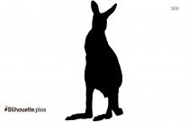 Kangaroo PNG Silhouette