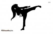 Karate Master Silhouette