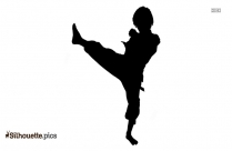 Taekwondo Silhouette Image And Vector
