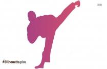 Taekwondo Silhouette Image