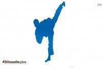Korean Karate Silhouette Picture