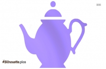 Tea Kettle Silhouette For Download