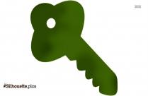 Key Silhouette Clip Art Picture