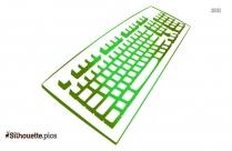 Keyboard Silhouette